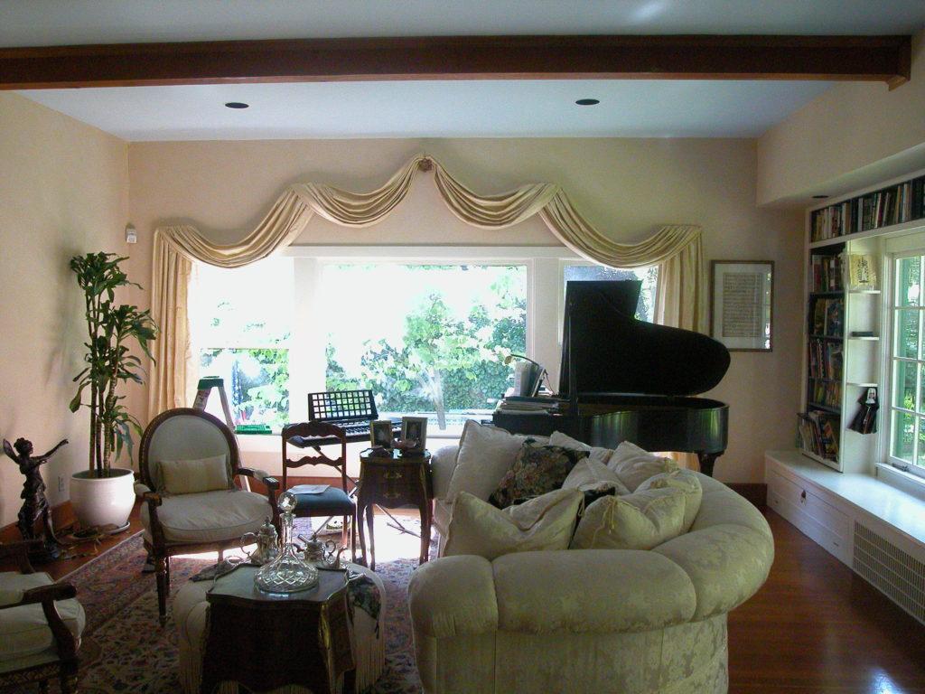 Diablo CA drapery living room
