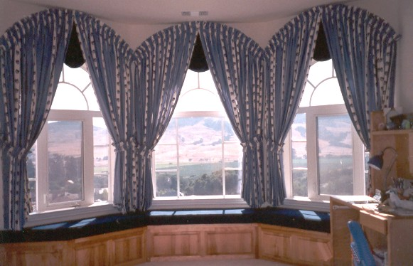 Drapery and swag window treatments Fairfield CA