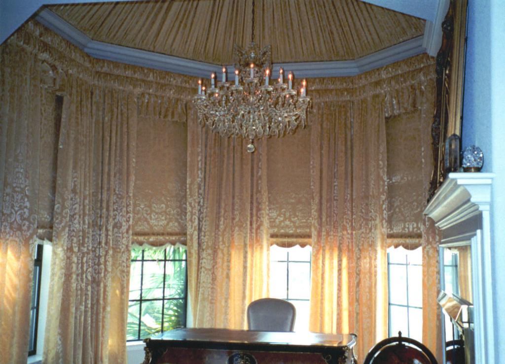 ornate window treatments
