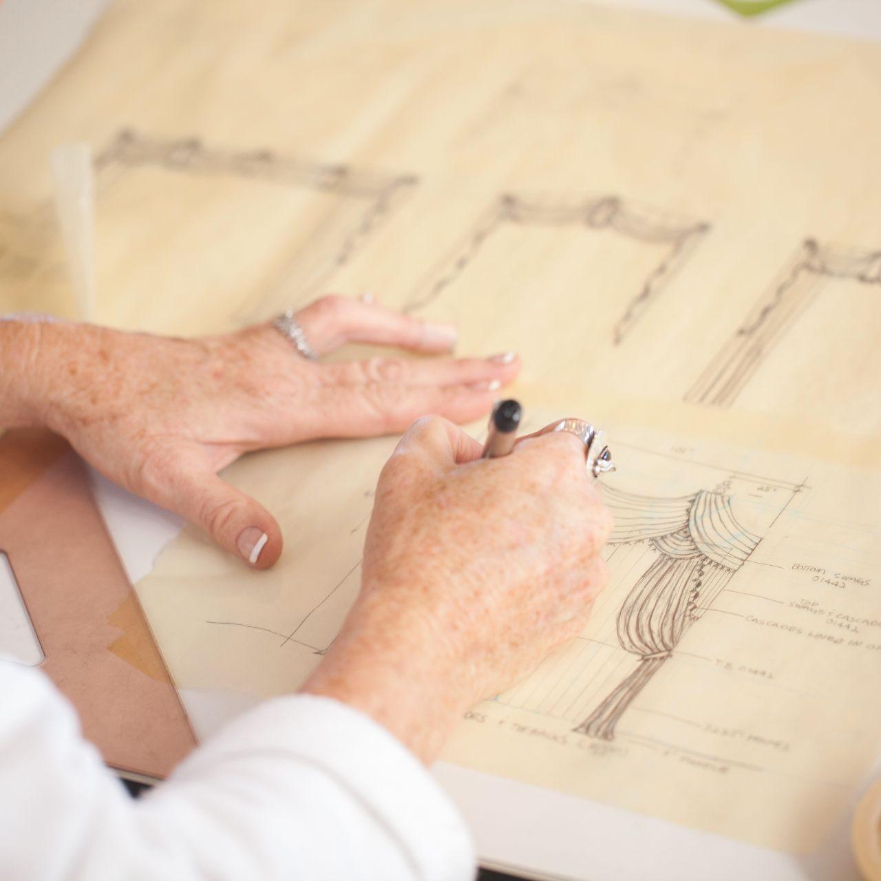 Sketching a design